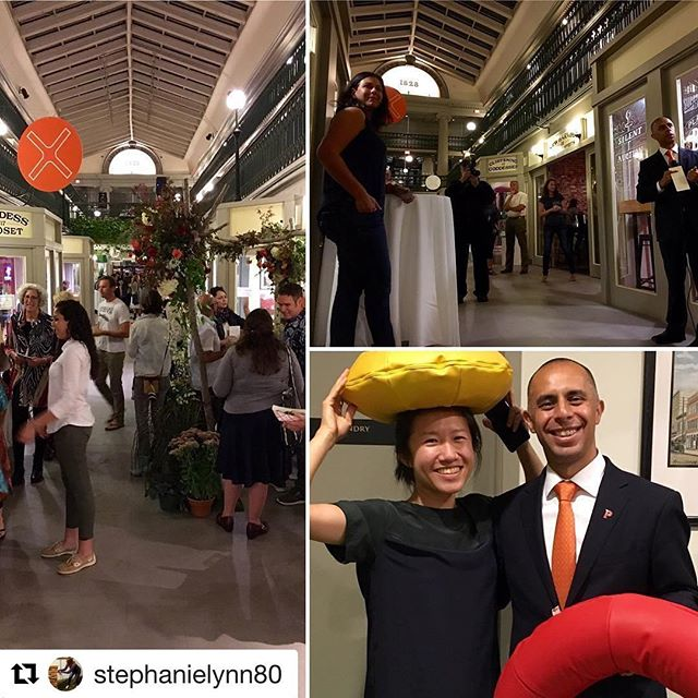 So honored to be a part of this amazing event!! Thank you Mayor Elorza and Stephanie for capturing this!  #Repost @stephanielynn80 with @repostapp ・・・ Thanks to Mayor @jorge_elorza for stopping by #designweekri kickoff at @arcadeprovidence & thx to @newharvestpvd @designxri
