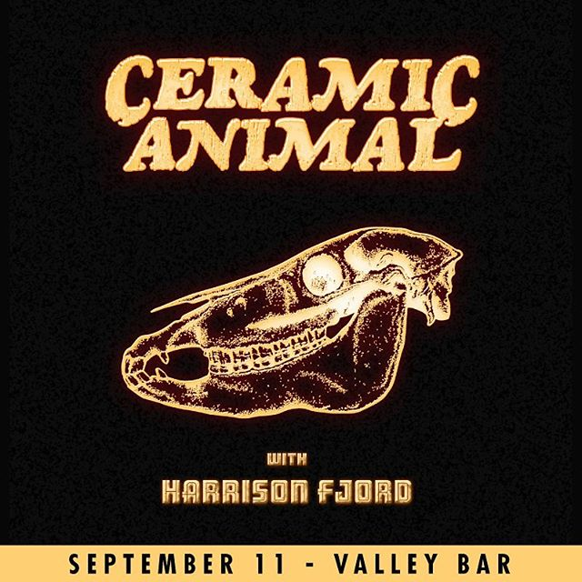 We'll be back this September with surprises. @ceramicanimal show at @valleybarphx!