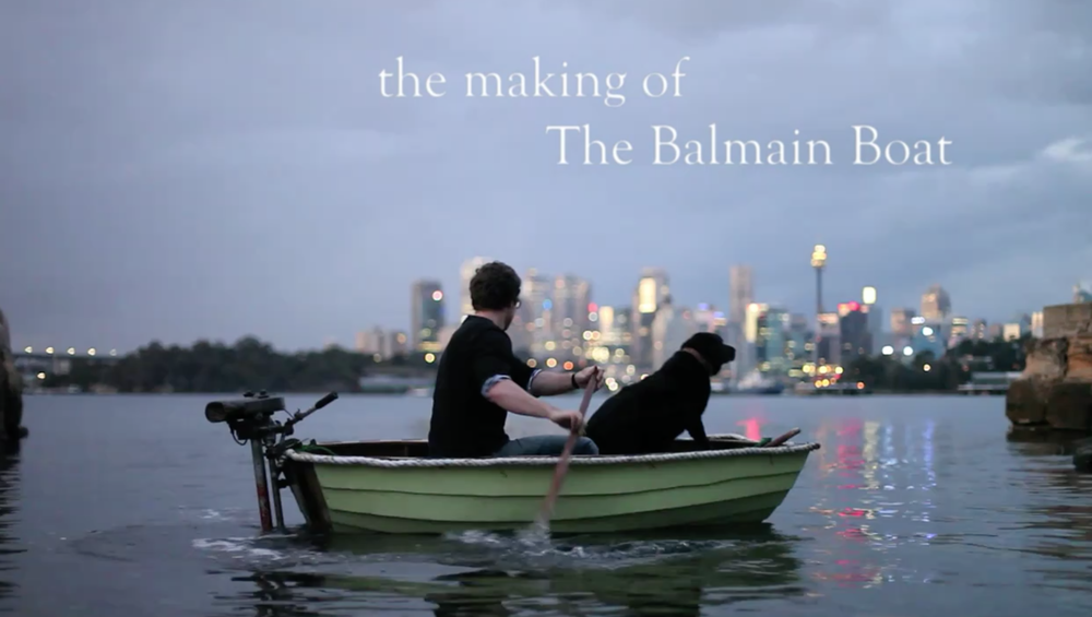 MEET THE MAKER: This video designed to showcase the design philosophy and process of the designer of the Balmain Boat company boat kit.