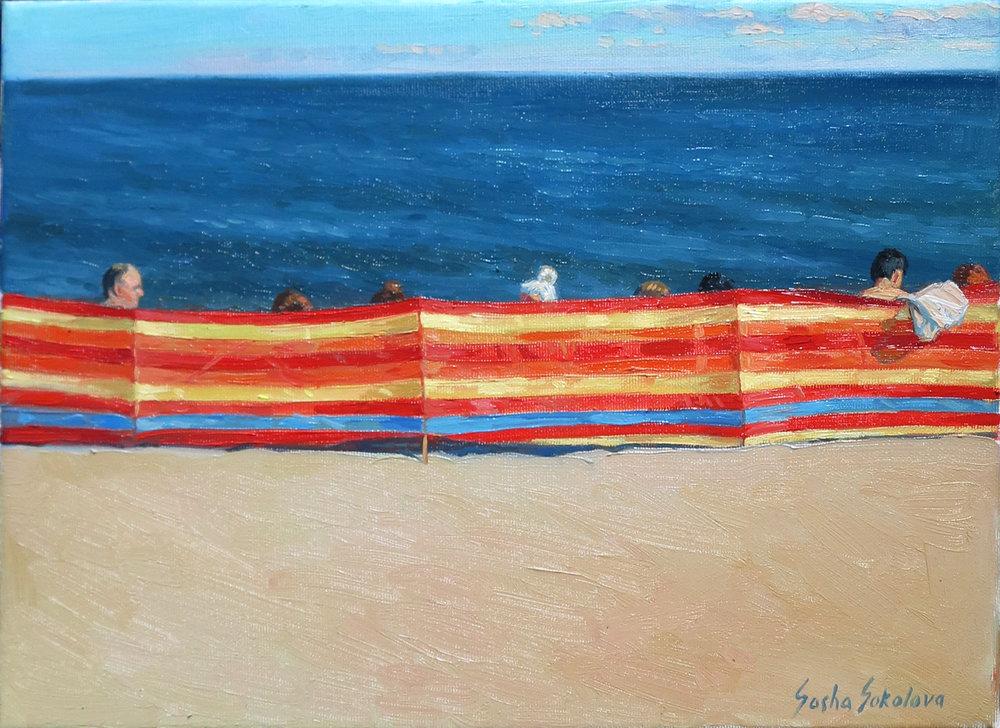 Oil on canvas 30 x 40