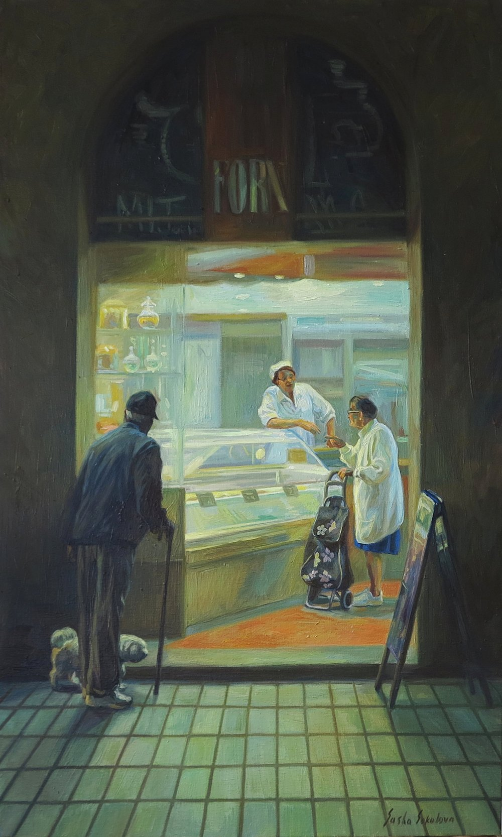 Oil on canvas 100 x 60