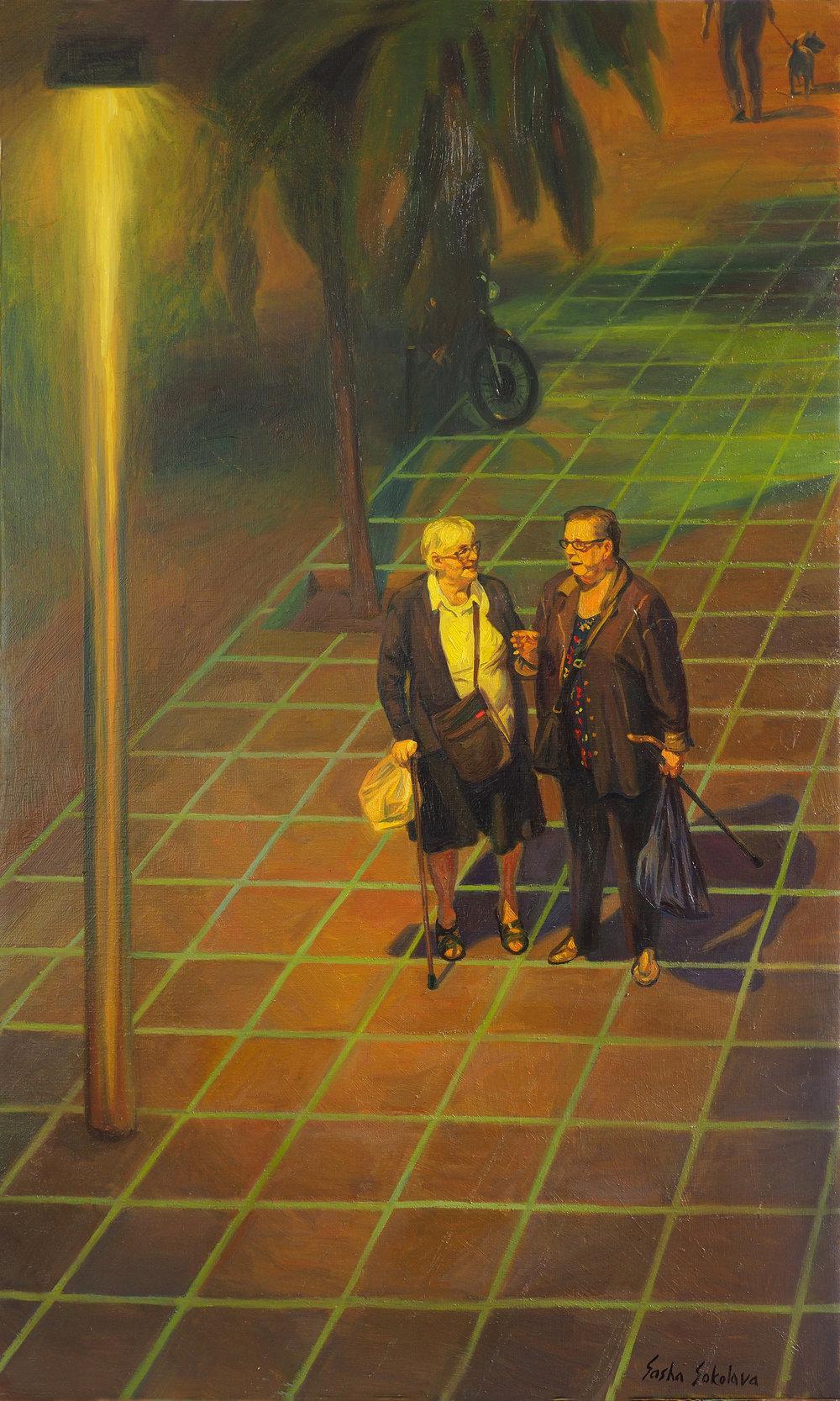 Oil on canvas 100 x 60  Available