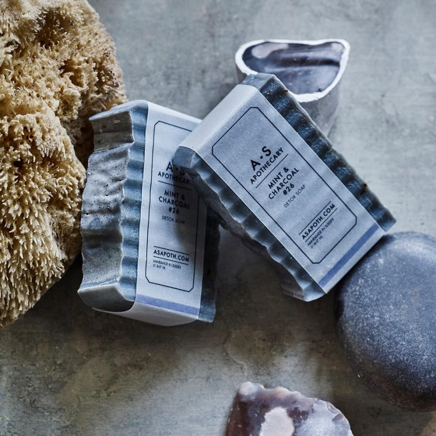 Mint & Charcoal Detox Soap