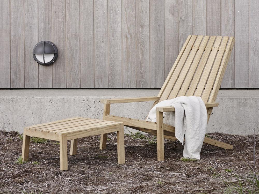 Between Lines Deck Chair by Skagerak via Nest