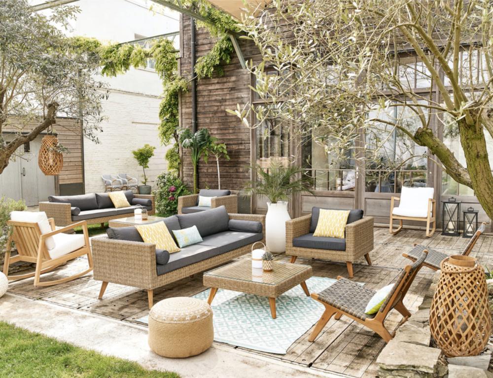 Feroe Garden Sofa from Maisons du Monde