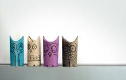 (via  swissmiss | Toilet Paper Owls )