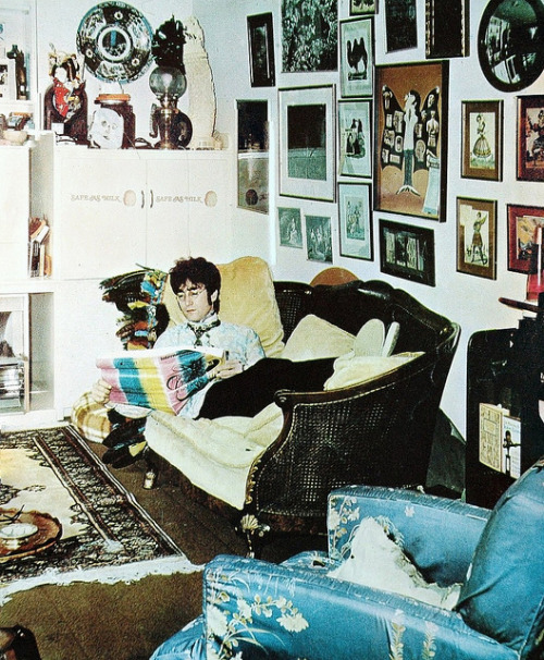 Lennon, a definition of cool.