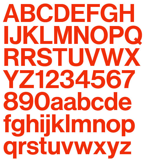 The Origin: Neue Haas Grotesk      Font Bureau  released the origin of now ubiquitous Helvetica.        Type designer Christian Schwartz has newly restored the original Neue Haas Grotesk in digital form.      Knowing  Christian Schwartz , you know that this is a high quality digital type – ehem, I mean font – which included text and display cut, alternate glyph, small-caps, to name a few. All in glorious total 22 styles. Also talking about Christian Schwartz, read his  post  at ILT about why he started a type foundry.    Don't know the story behind Neue Hass Grotesk/Helvetica debacle? Head over to the  history section  of this nicely done minisite.