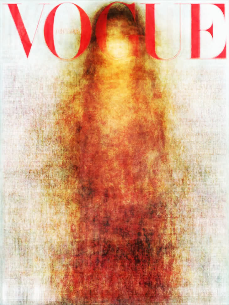 hitrecordjoe :      wirrow :all the Vogue covers [of every country] for 2010 overlayed over eachother