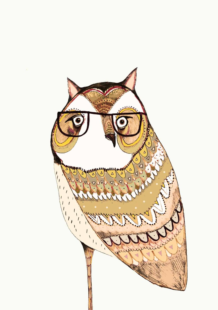 designersof :     I like Owls By Ashley Percival      http://www.etsy.com/shop/AshleyPercival       Weirdly cool.