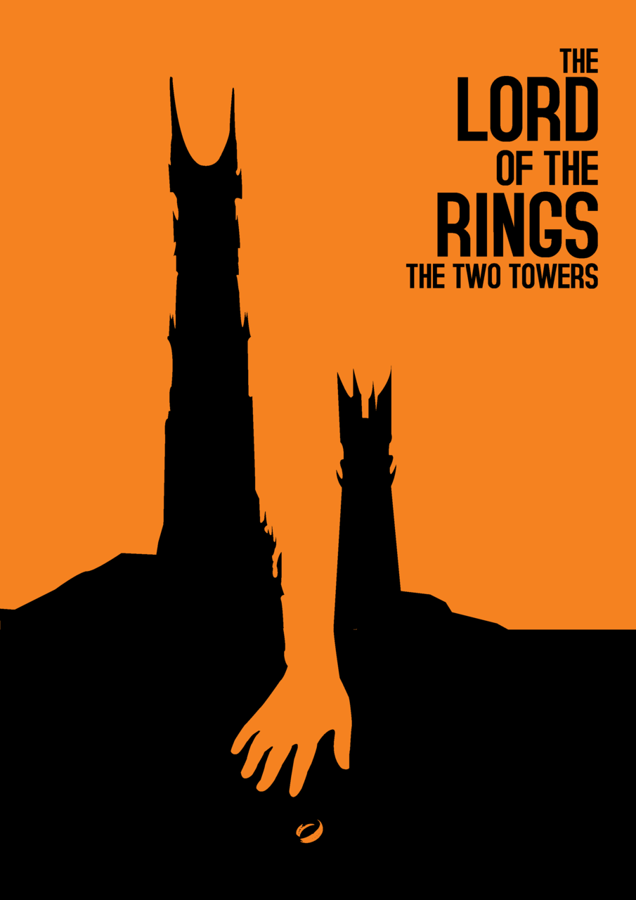 designersof :      The Lord of the Rings: The Two Towers  (2002)   Design by  Commonista