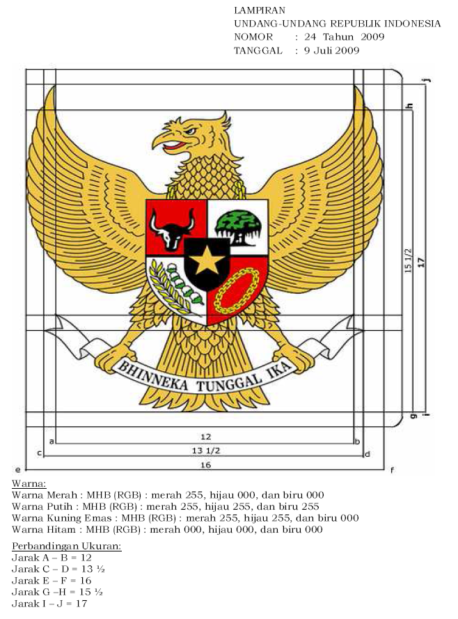 Indonesia's symbol, the Garuda. I always wonder what it will be like if someday someone commissioning me to redid or at least make a graphic standard manual for a country's symbol.