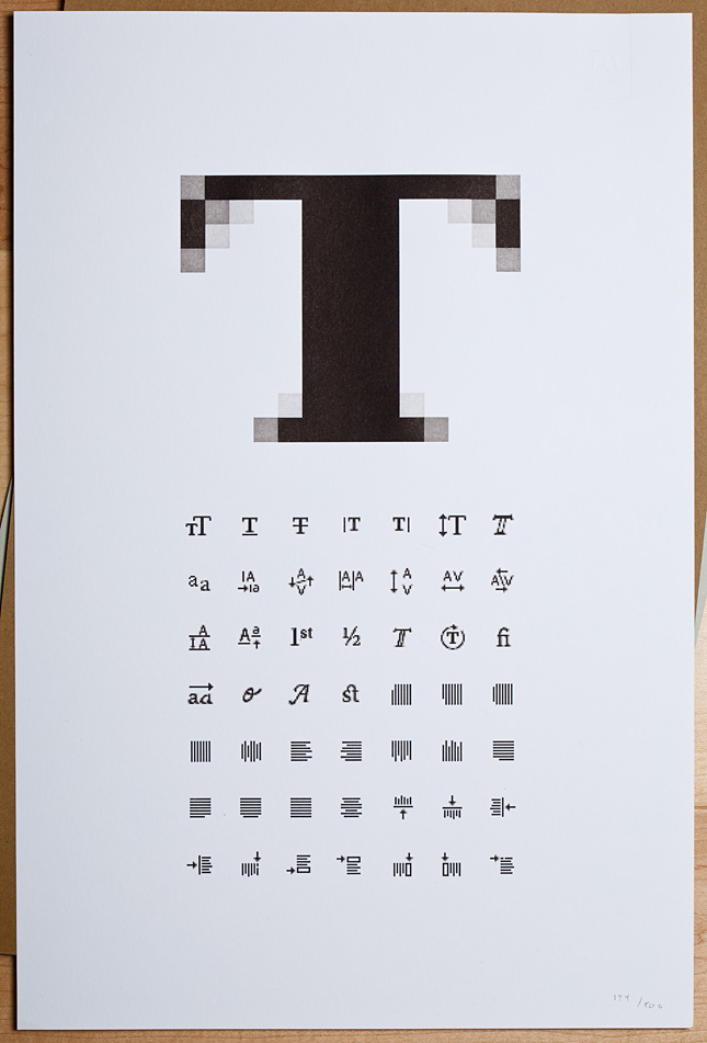 Very detailed letterpressed poster of InDesign icons, simply amazing. Click the photo for more details. (via Destroy Today)
