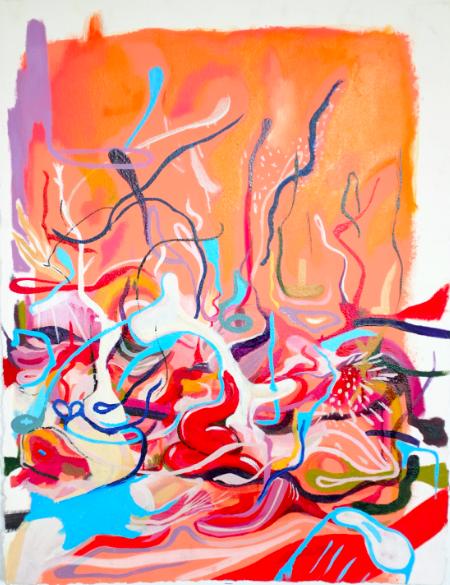 Paz Rocio Mallea - La artista visual Paz Mallela, afincada en NY, se traslada a Barcelona para crear su nueva serie de pinturas. Durante unos meses una de las salas de Utopia126 se convertirá en su taller para que pueda crear estas obras.www.pazrocio.com@pinklegspegway