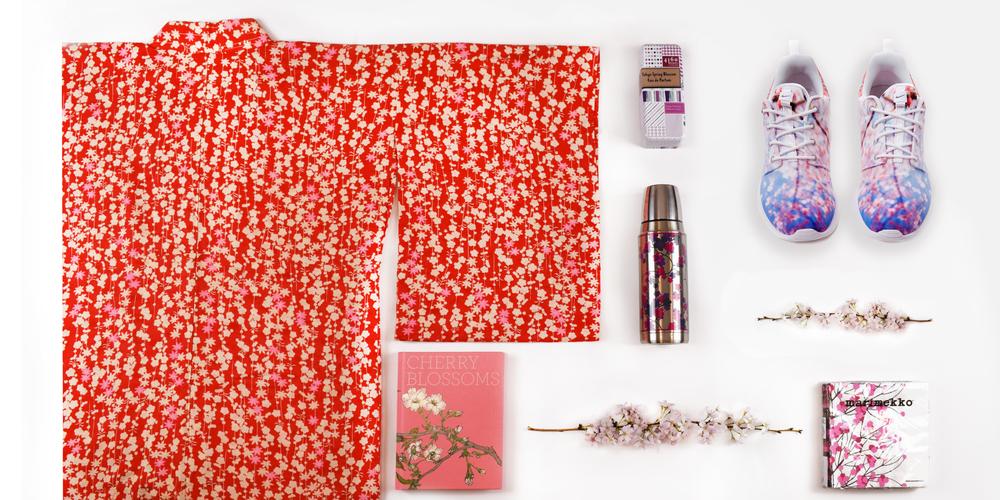 Ona Kimono Cherry Blossom Theme
