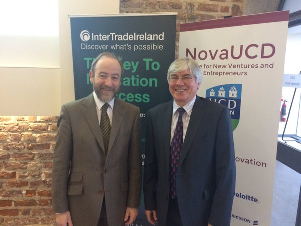 Left Thomas McGowan, ITI CEO, Right Nigel Biggs