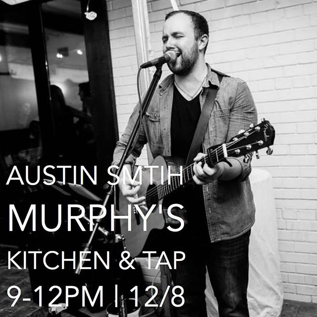 Tonight at @murphysclt from 9-12!