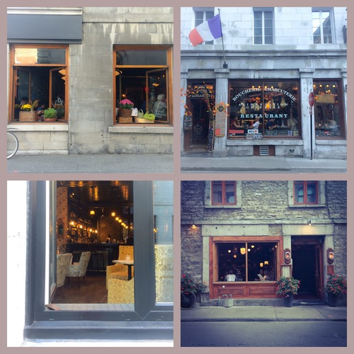 Streets of  Old Town Montreal