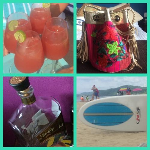Drinks, shopping & surf in Sayulita