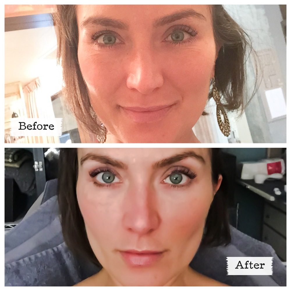 Brows: Before & After by Savera Salon