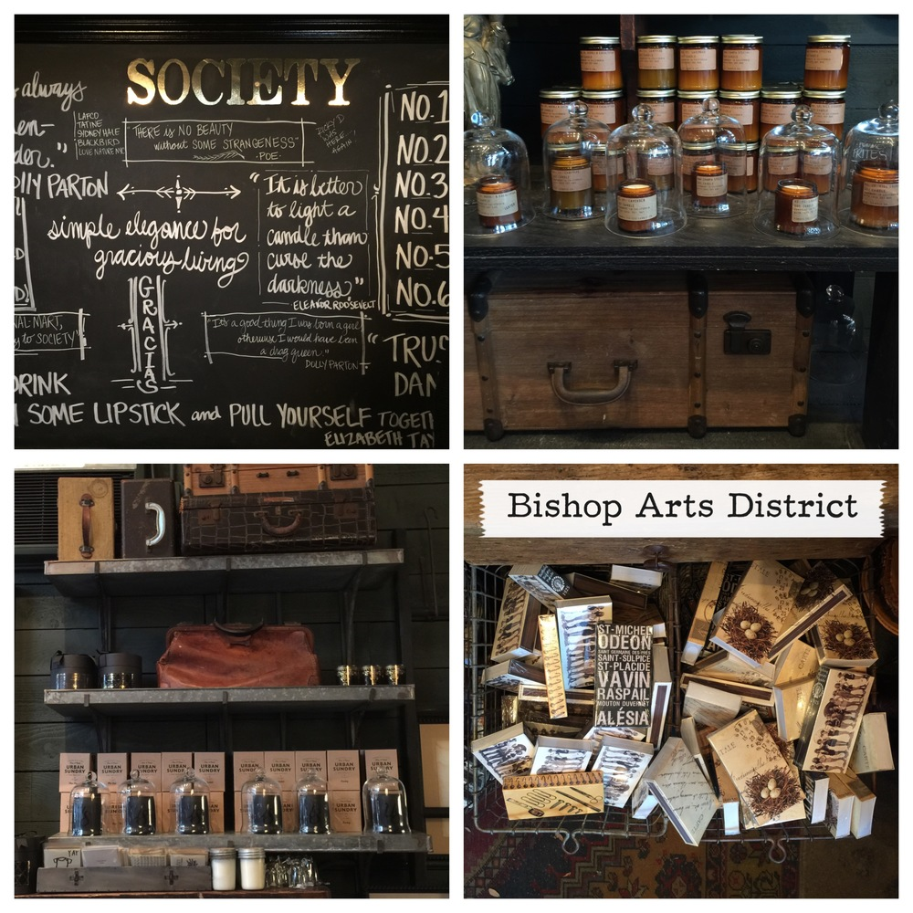Society in Dallas's Bishop Arts District