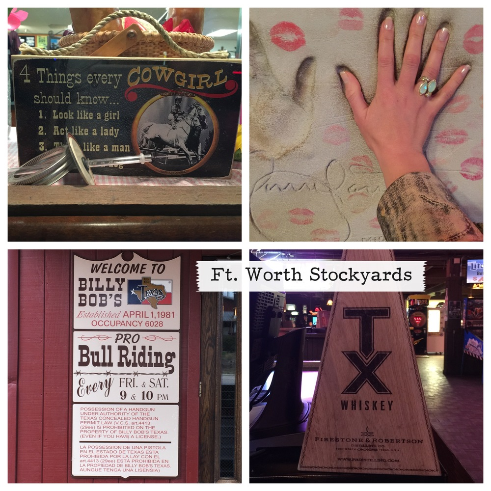 Billy Bob's Honky Tonk at the Ft. Worth Stockyards