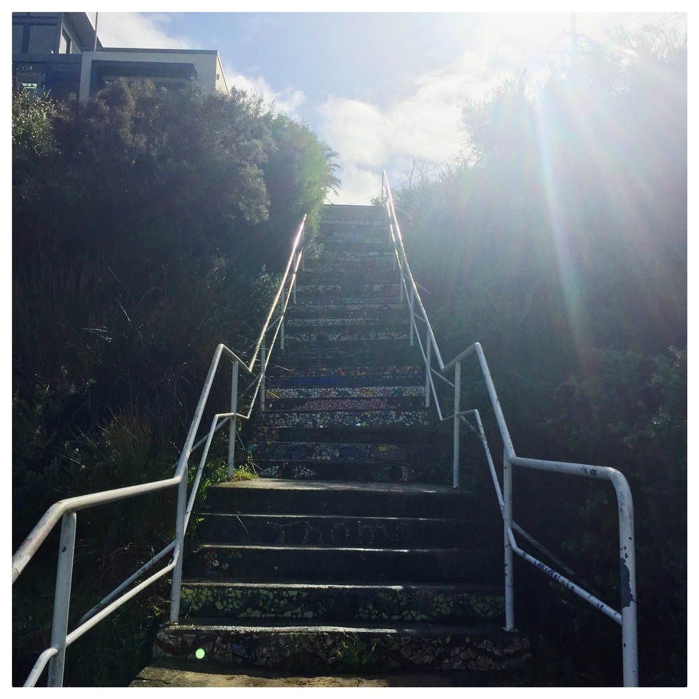 Stairs at Coogee