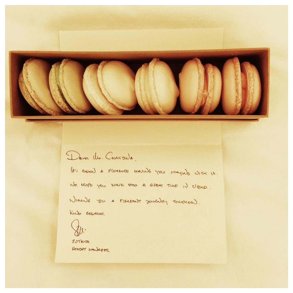 Farewell Macarons