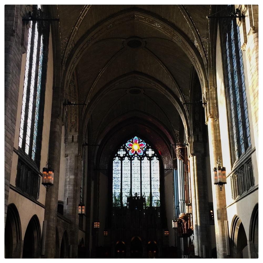 U of C's Rockefeller Memorial Chapel