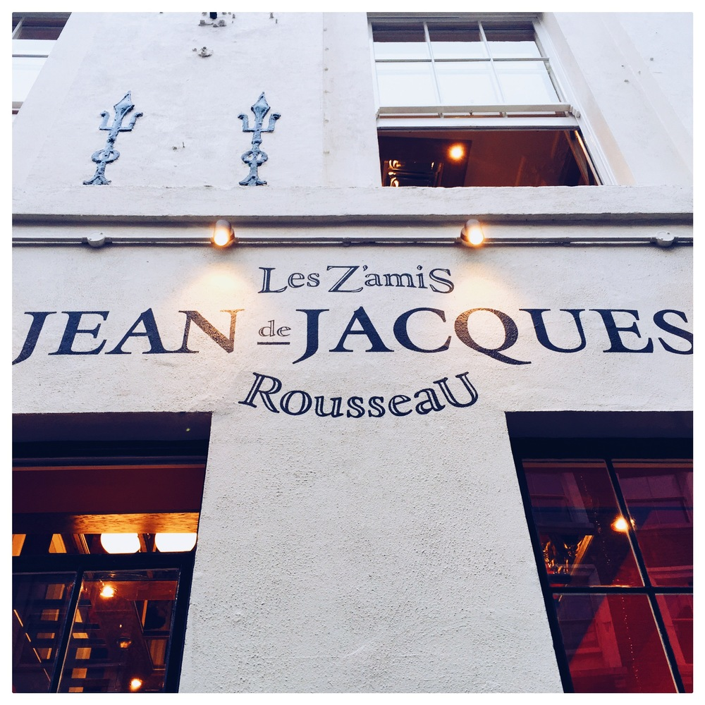 Jean-Jacques  in London's Soho
