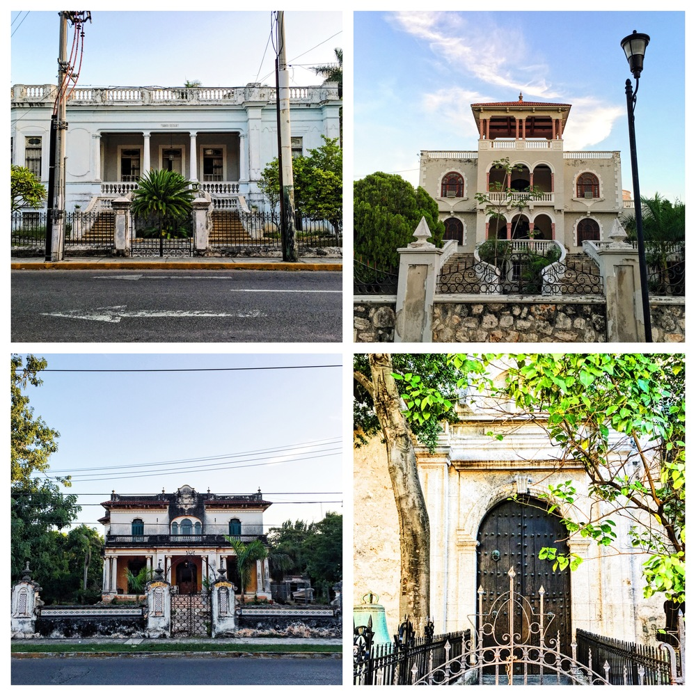 Vacant homes of Mérida