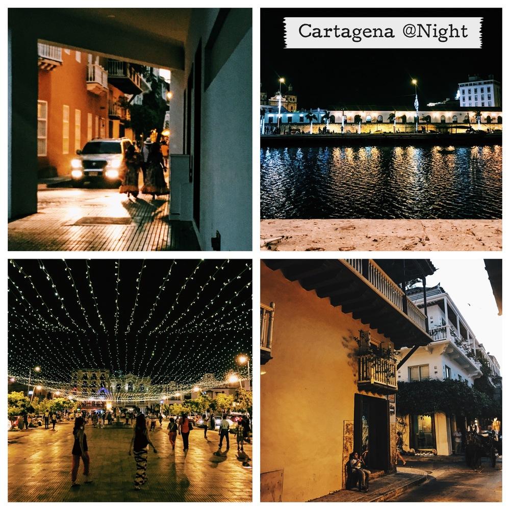 Cartagena's Evening Sparkle