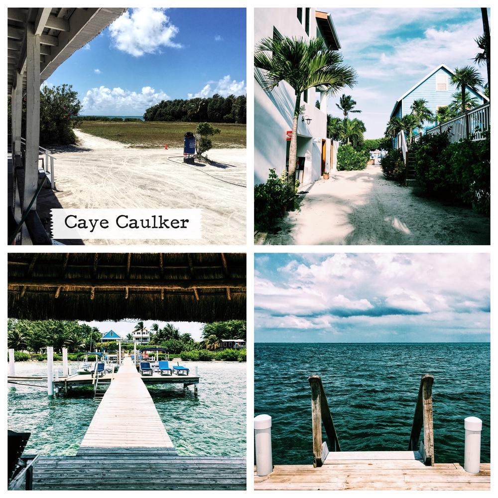 Arriving in Caye Caulker