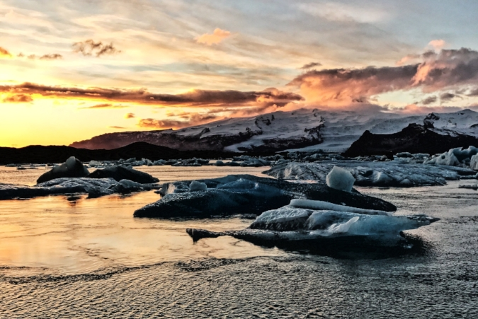 Iceland's Glacier Lagoon