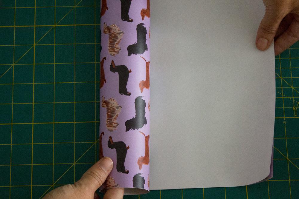 Lark+Raven Dachshund Gift Wrap
