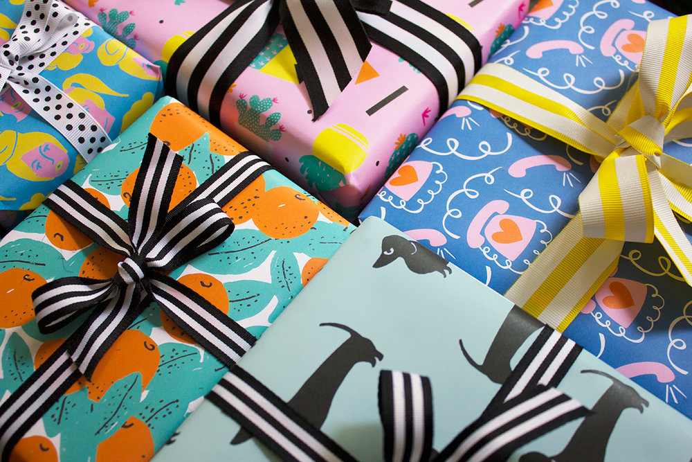 Lark+Raven Gift Wrap