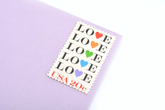 Third Love stamp issued 1984