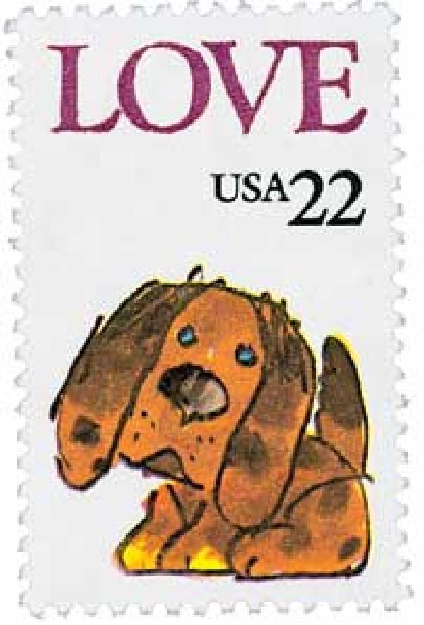 1986 Love Stamp