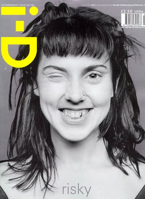 > Inspiration! Mel C (of Spice Girls) and her gold tooth, i-D Magazine 1999