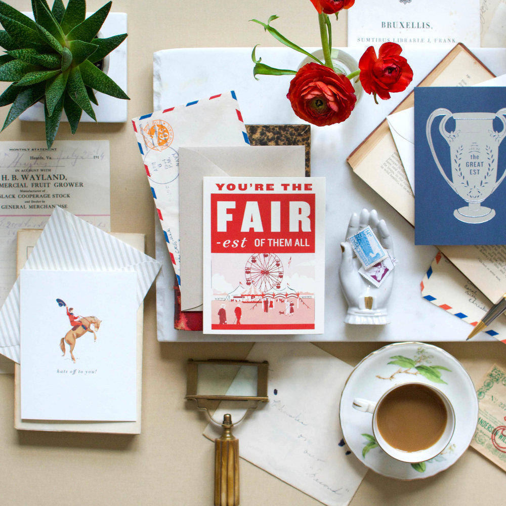 Amy Heitman Spring 2018 greeting cards