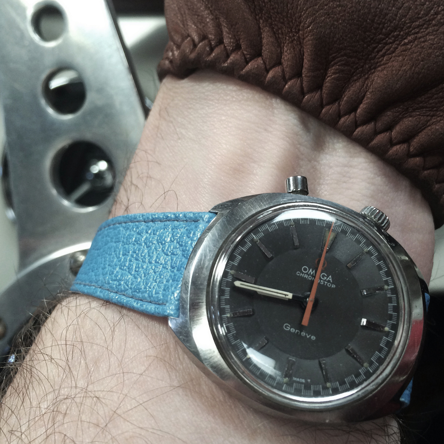 Wrist watch keeps stopping