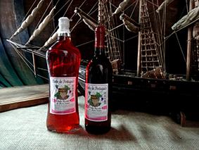 Vinho Rosé Seco e Vinho Rosé Suave