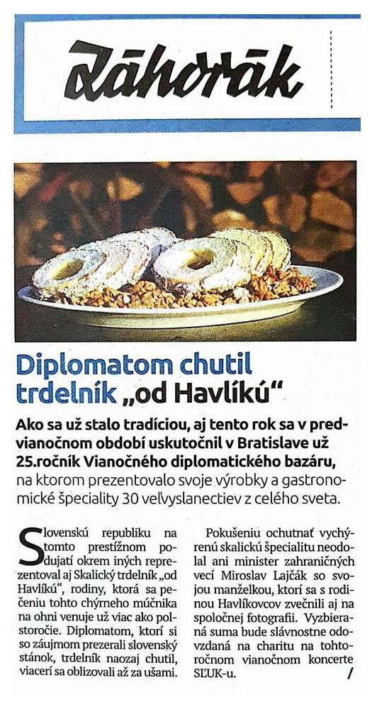 trdelník-týždenník-Záhorák-minister-Lajčák