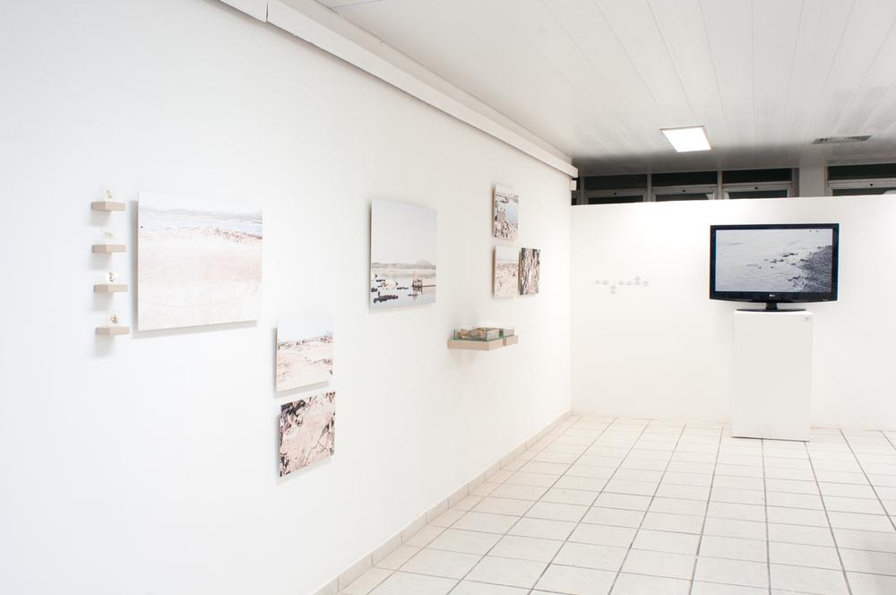 Instalation View  Old São Rafael,2015,SESC,Natal, Brazil.