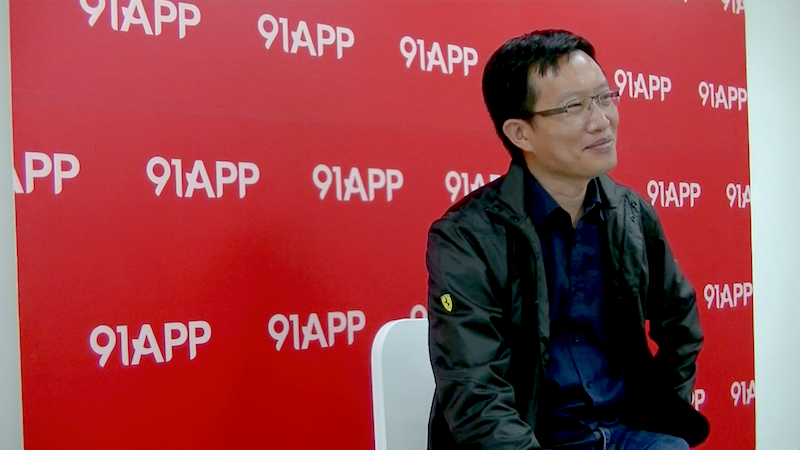 91APP Founder and Taiwan Startup Stadium mentor Steven Ho