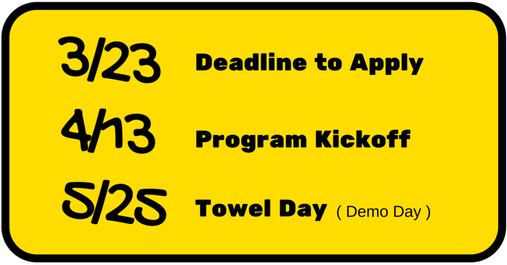 taiwan-startup-stadium-42-beta-accelerator-program-deadline-towel-day.png