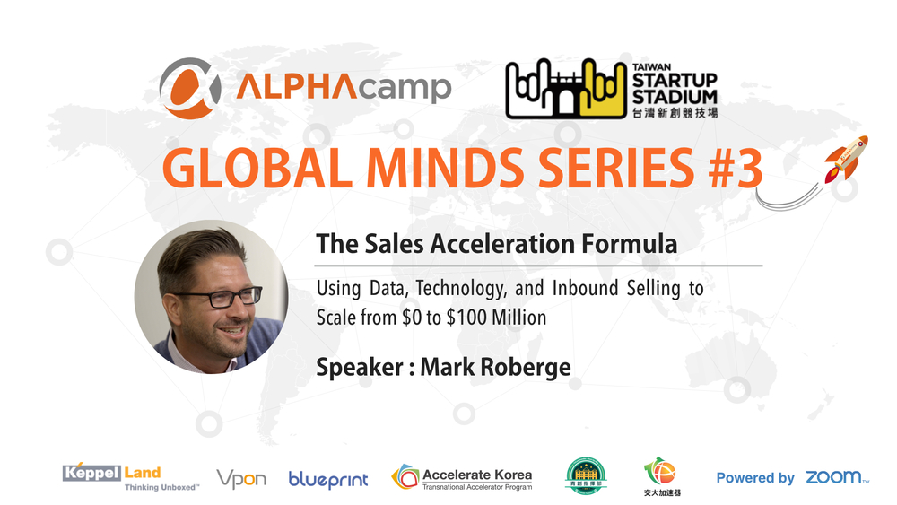 Global_mind_series_#3_Taipei_Startups_mark_Roberge_sales_TSS_alphaCamp