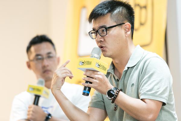 聽完無名小站創辦人簡志宇的講座只能用崇拜兩個字形容