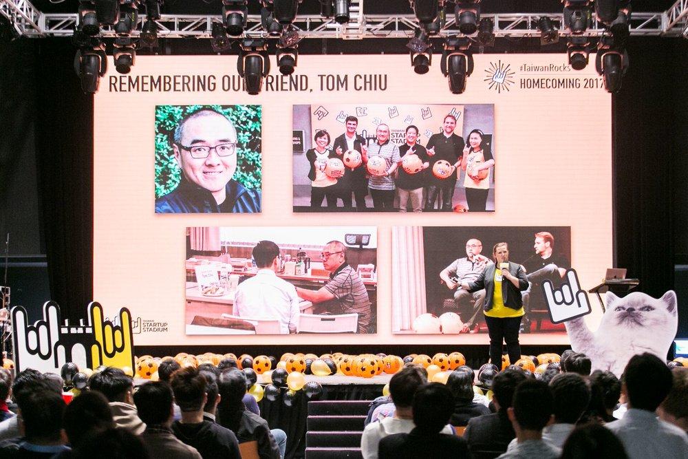 In memoriam: Our friend & investor, Tom Chiu