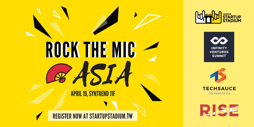 Taiwan-startup-stadium-rock-the-mic-asia-2018